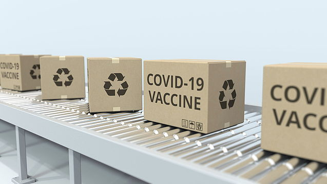 Secure supply chain of the Corona vaccine